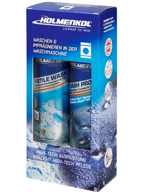 Holmenkol Textile Wash & Wash Proof Pflegemittel-Set 2x250ml